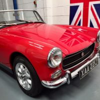 MG Midget 1275cc - Very Gorgeous, Honest & Genuine Low Mileage Chrome Bumper Series 3