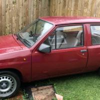 Vauxhall Nova 1.0 ltr